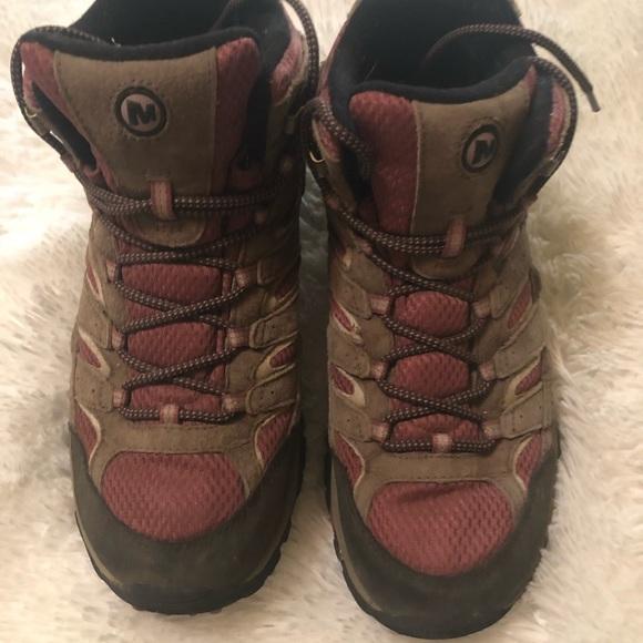 8341817f Merrell Moab 2 Waterproof 💦 Hiking Boots 10.5